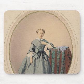 Portrait of Madeleine de Malaret Mouse Pad