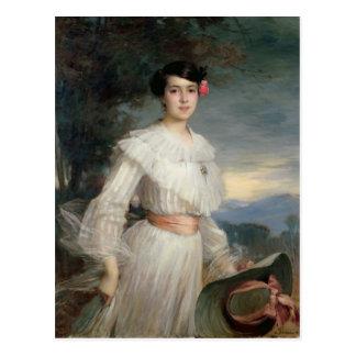 Portrait of Madeleine Reclus, 1902 Postcard