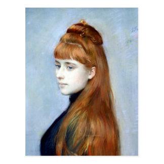 Portrait of Mademoiselle Alice Guerin Postcard
