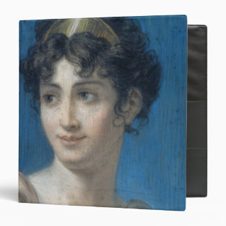 Portrait of Mademoiselle Georges 3 Ring Binder