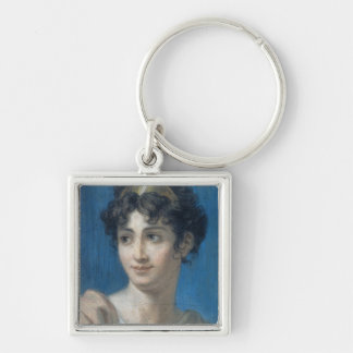 Portrait of Mademoiselle Georges Keychain