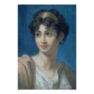 Portrait of Mademoiselle Georges Print