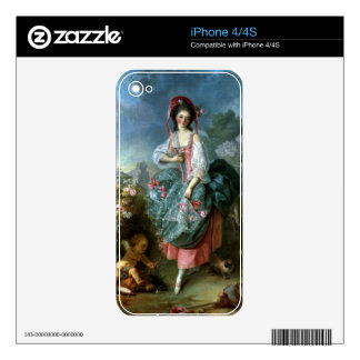 Portrait of Mademoiselle Guimard as Terpsichore, c Decal For The iPhone 4S