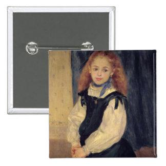 Portrait of Mademoiselle Legrand 2 Inch Square Button