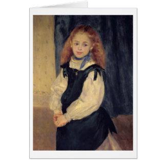Portrait of Mademoiselle Legrand Card