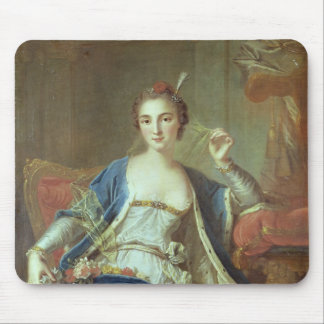 Portrait of Mademoiselle Marie Salle  1737 Mouse Pads