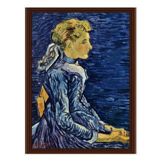 Portrait Of Mademoiselle Ravoux By Vincent Van Postcard
