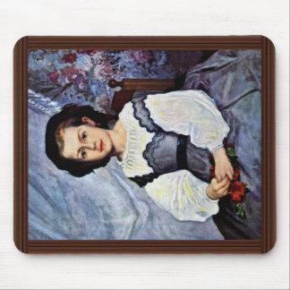 Portrait Of Mademoiselle Romaine Lancaux Mouse Pad