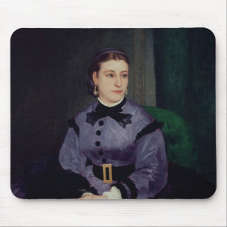 Portrait of Mademoiselle Sicot, 1865 Mouse Pads
