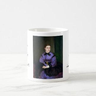 Portrait of Mademoiselle Sicot Auguste Renoir Coffee Mug