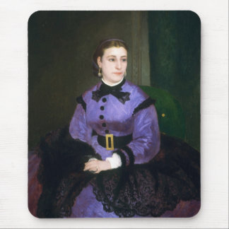Portrait of Mademoiselle Sicot Auguste Renoir Mouse Pad