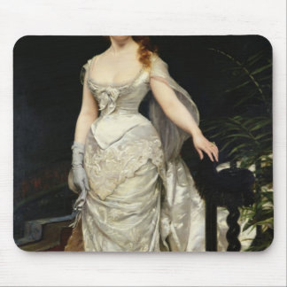 Portrait of Mademoiselle X, 1873 Mouse Pad