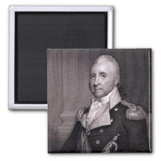 Portrait of Major General John Brooks, engraved by Magnet