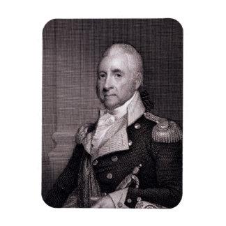 Portrait of Major General John Brooks, engraved by Flexible Magnets