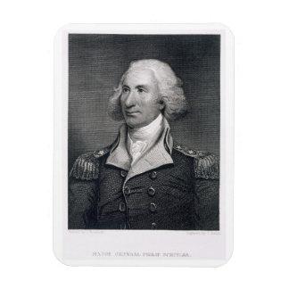 Portrait of Major General Philip Schuyler, engrave Rectangular Photo Magnet