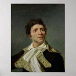 Portrait of Marat  1793 Print