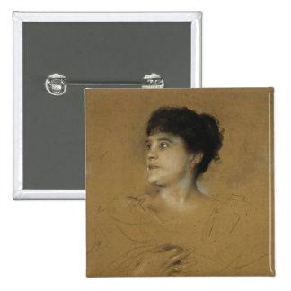 Portrait of Marcella Sembrich, 1891 Button