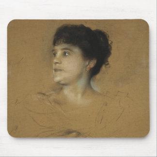 Portrait of Marcella Sembrich, 1891 Mouse Pad