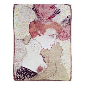 Portrait of Marcelle Lendor, 1895 Postcard