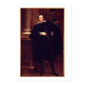 Portrait of Marcello Durazzo (oil on canvas) Postcard