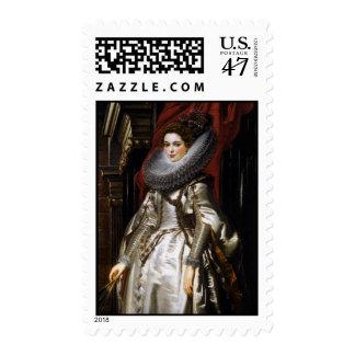 Portrait of Marchesa Brigida Spinola Doria Postage Stamp