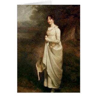 Portrait of Marcia. B. Fox Card