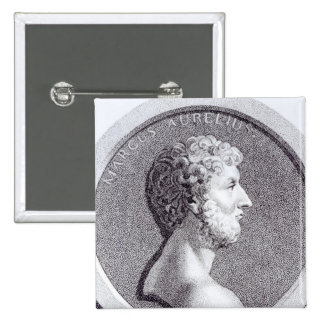 Portrait of Marcus Aurelius Pinback Button
