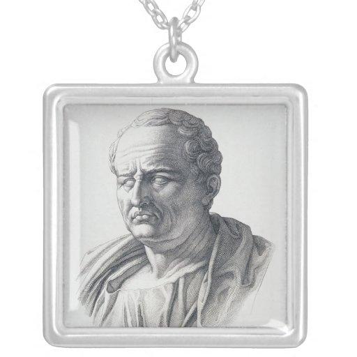Portrait of Marcus Tullius Cicero Custom Jewelry