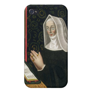 Portrait of Margaret Beaufort, Countess of Richmon iPhone 4/4S Cover