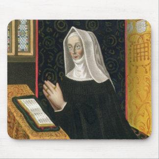 Portrait of Margaret Beaufort, Countess of Richmon Mouse Pad