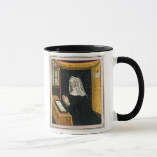 Portrait of Margaret Beaufort, Countess of Richmon Mug