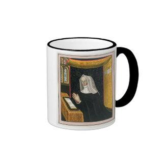 Portrait of Margaret Beaufort, Countess of Richmon Ringer Mug
