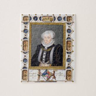 Portrait of Margaret Douglas (1515-78) Countess of Jigsaw Puzzles