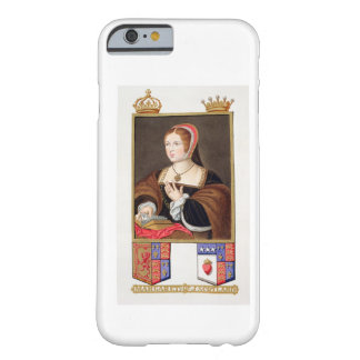 Portrait of Margaret Tudor (1489-1541) Queen of Sc Barely There iPhone 6 Case