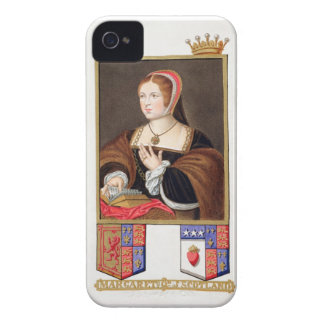 Portrait of Margaret Tudor (1489-1541) Queen of Sc Case-Mate iPhone 4 Case