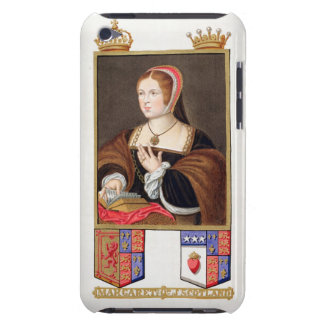 Portrait of Margaret Tudor (1489-1541) Queen of Sc Barely There iPod Cases