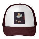 Portrait Of Margaretha De Geer, Wife Of Jacob Trip Trucker Hats