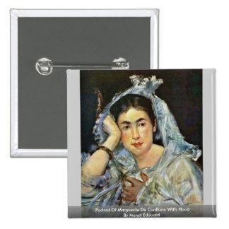 Portrait Of Marguerite De Conflans With Hood Pins