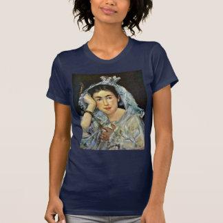 Portrait Of Marguerite De Conflans With Hood T Shirt