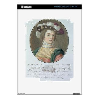 Portrait of Marguerite de Valois (1492-1549), 1787 iPad 3 Decal