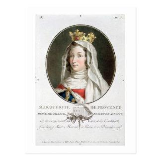 Portrait of Marguerite of Provence (1219-95), 1787 Postcard