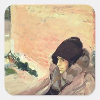 Portrait of Maria Convalescing Sticker