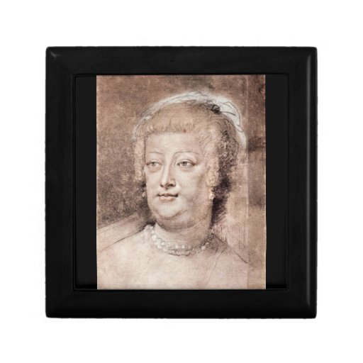 Portrait of Maria de' Medici by Paul Rubens Gift Boxes