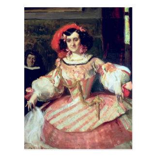 Portrait of Maria Guerrero Postcard