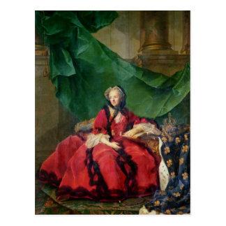 Portrait of Maria Leszczynska  in Daily Dress Postcard