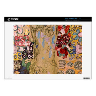 Portrait of Maria Munk by Gustav Klimt Acer Chromebook Decals