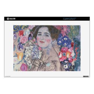Portrait of Maria Munk Laptop Decals