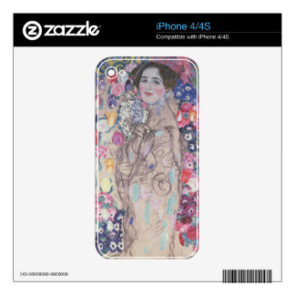 Portrait of Maria Munk Decal For The iPhone 4S