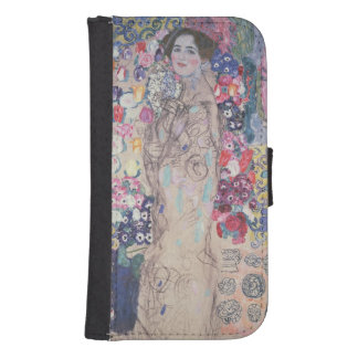 Portrait of Maria Munk Wallet Phone Case For Samsung Galaxy S4