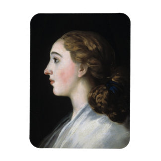 Portrait of Maria Teresa de Vallabriga Goya art Magnet